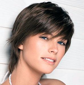 Cortes cortos para mujeres con poco pelo