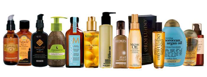 aceite de argan para el pelo