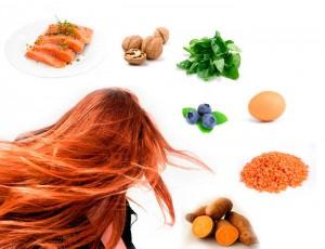 alimentos cabello sano